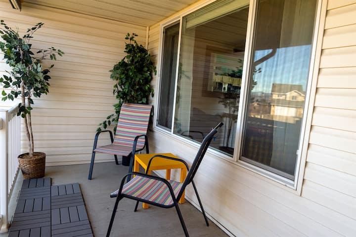Prairie View Hideaway | Upgraded Home with Beautiful Prairie Views