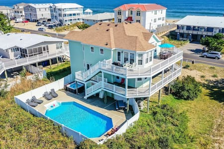7+ Bdrm, 5.5 Bath Pool/Hot Tub-Sandbridge Beach VA