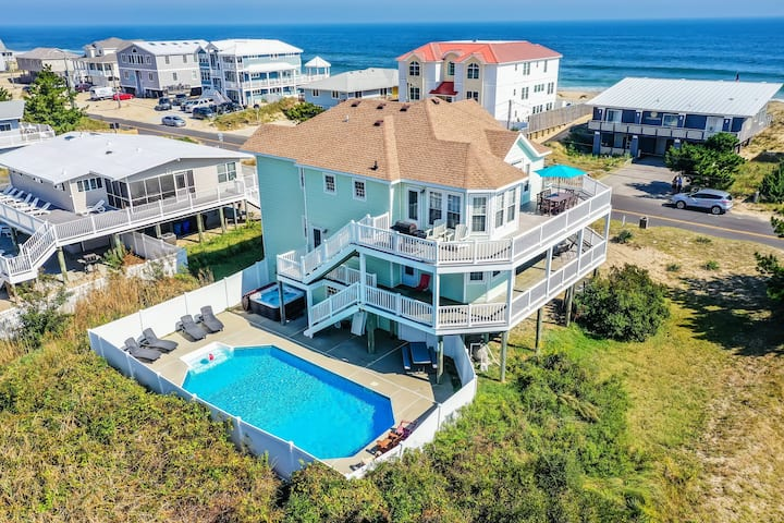 7+ Bdrm, 5.5 Bath Pool/Hot Tub Sandbridge Beach VA
