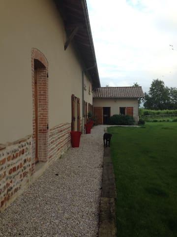 1 chambre confortable à la campagne - Saint-Paul-de-Varax - Casa