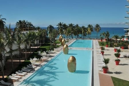Luxury Complex with Exclusive Beach - Puerto Vallarta - Apartamento