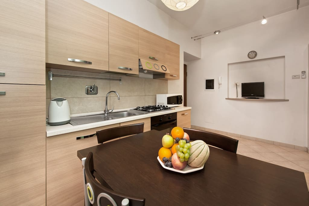 La Cucina - A fully equipped Kitchen