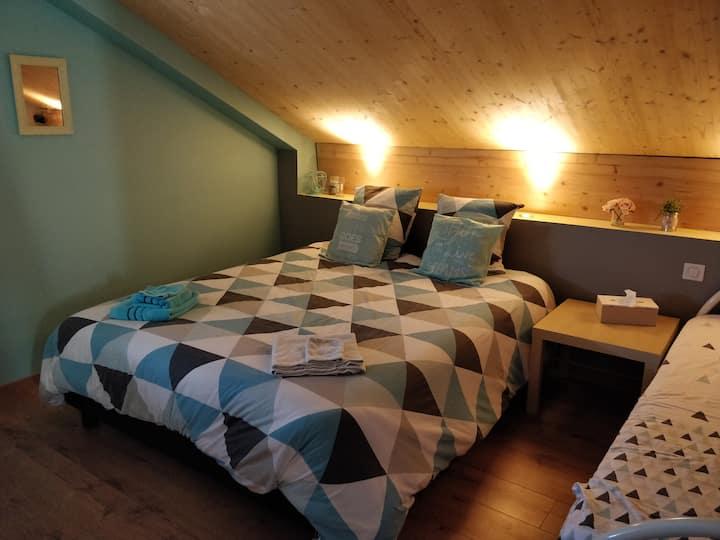 Grande chambre chaleureuse 2
