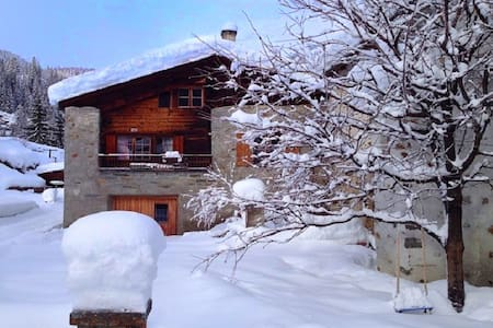 Sunny, rustical 5½ room cottage - Poschiavo