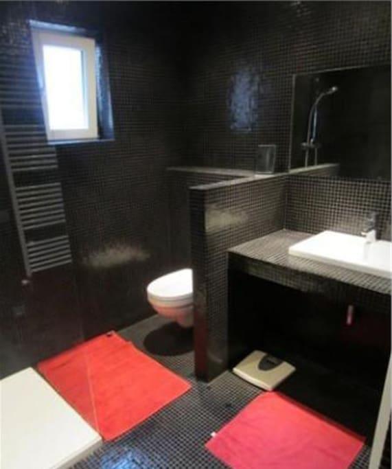Beautiful modern bathroom!