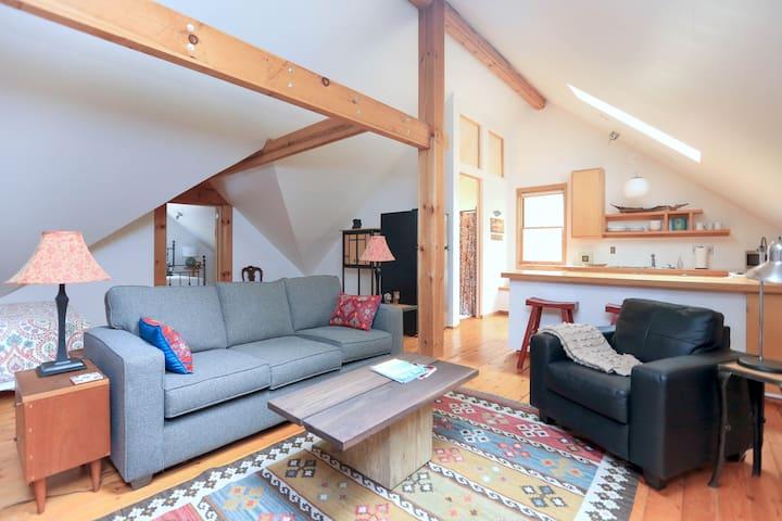 Modern Loft in the Mountains - Fairview - Casa de huéspedes