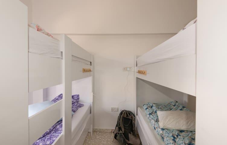 dormitory room (shared) at Hostel Maxim in Kyrenia