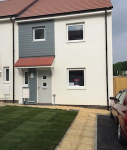 New Build 2 Bedroom House With Garden & Parking