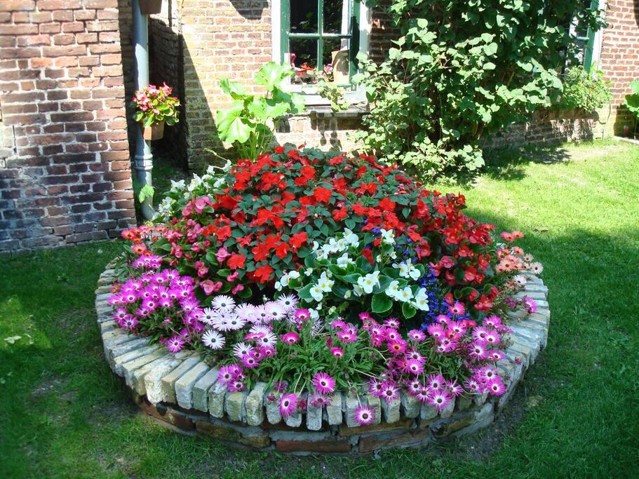 ...we houden van bloemetjes...