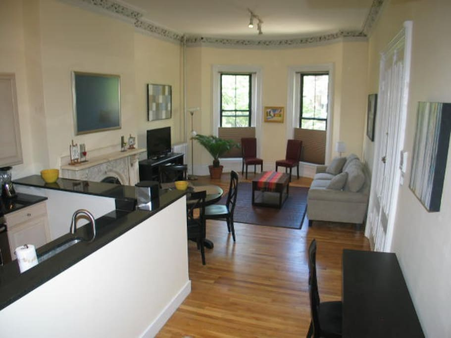Large Grand 2 Bedroom South End By Copley Sq 3 Apartments For Rent I