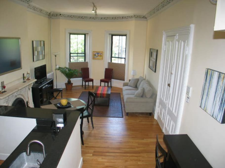 bedroom south end by copley sq 3 apartments for rent in boston