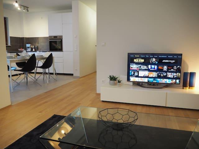 Neues modernes City Apartment mitten in Aalen