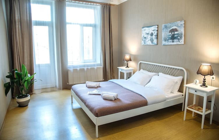 -30%☀️Sunny apartment w/a balcony | city center☀️