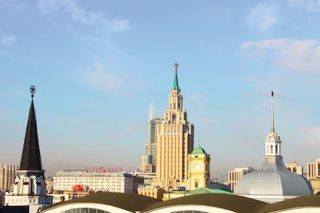 Уют. Комфорт. м. Комсомольская - Москва - Bed & Breakfast