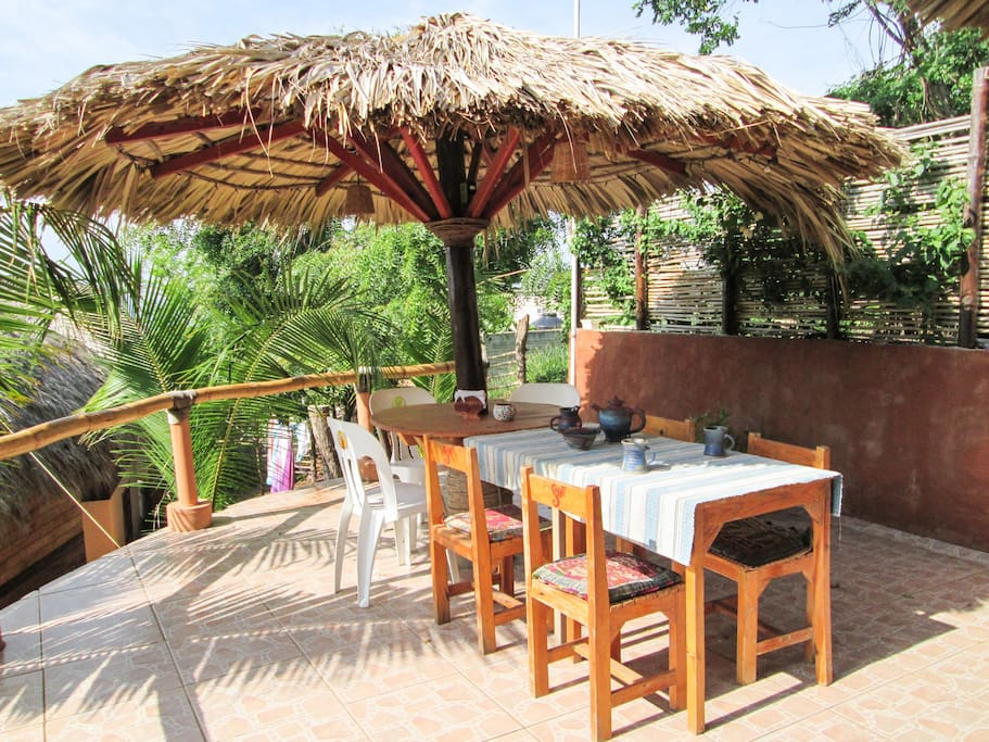 Common area with Palapa