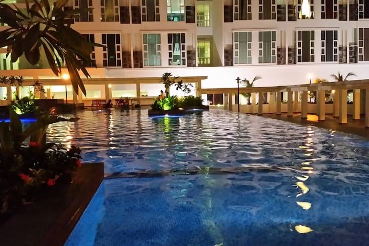 4 Bedrooms: The Scott Garden for 8 to 12 persons - Kuala Lumpur - Apartament