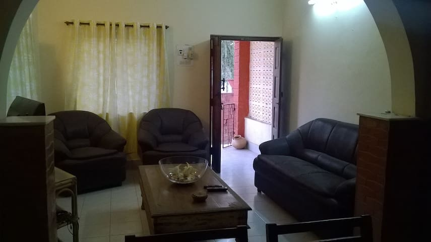 2 Bedroom Independent Home - North Goa - Hus