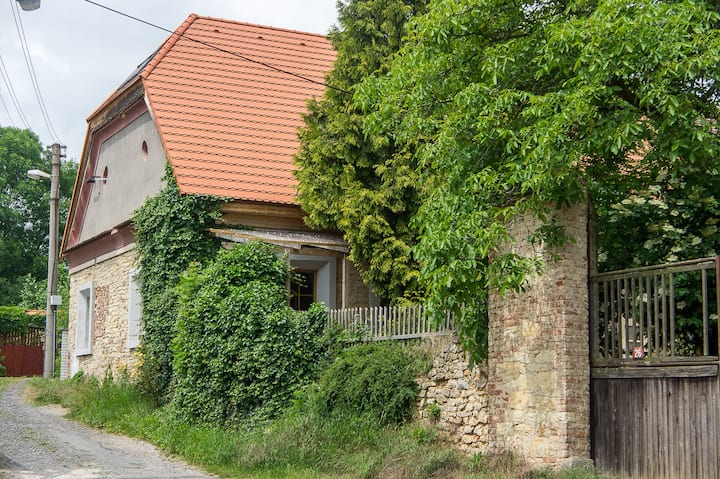 Ancient village house in Ptice