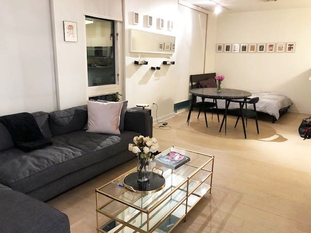 Cozy Apartment, 7 minutes from train into NYC.