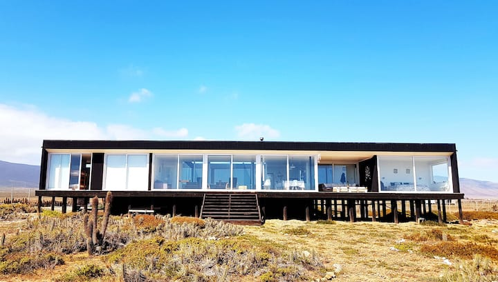 Maravillosa Casa de Playa en Huentelauquen, Nueva.