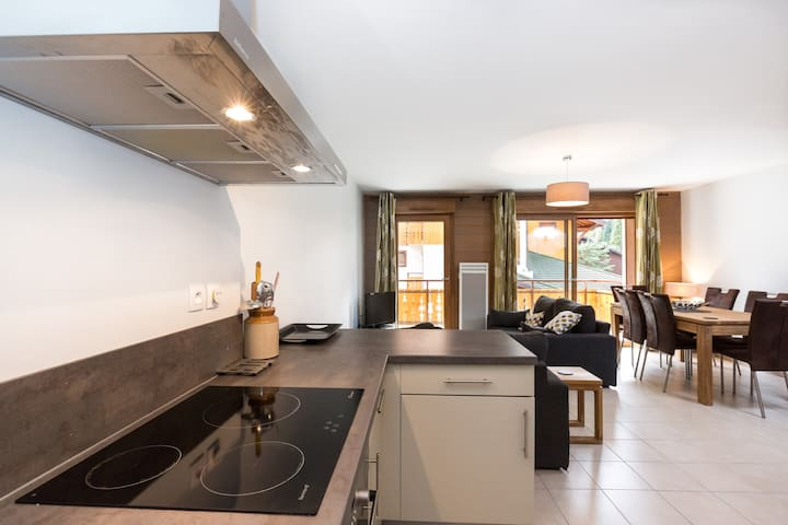 Contemporary 3 bedroom Apt, Portes Du Soleil - La Chapelle-d'Abondance - Apartment