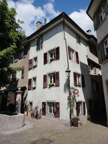 old house in the historical city centre - Rheinfelden