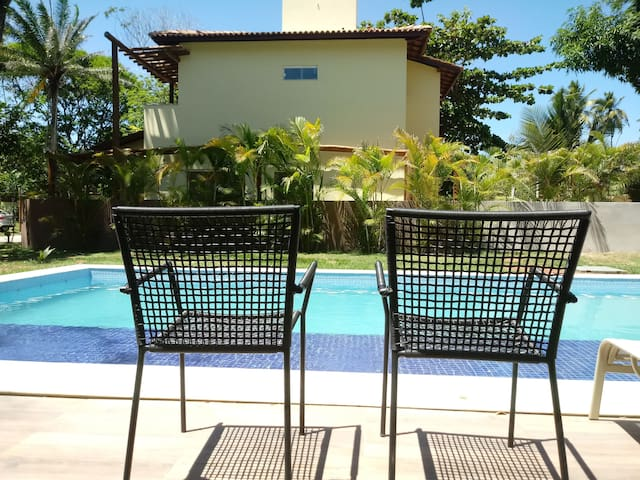 Casa de Praia Imbassaí,  Paraíso perto do mar!