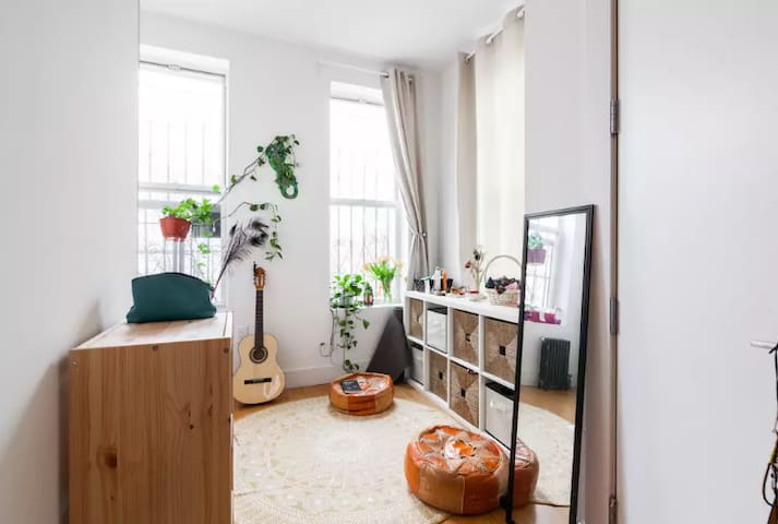Beautiful Bright bedroom with private bathroom