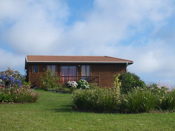 Quaint cottage with sea views. NAME LITTLESTEPS.