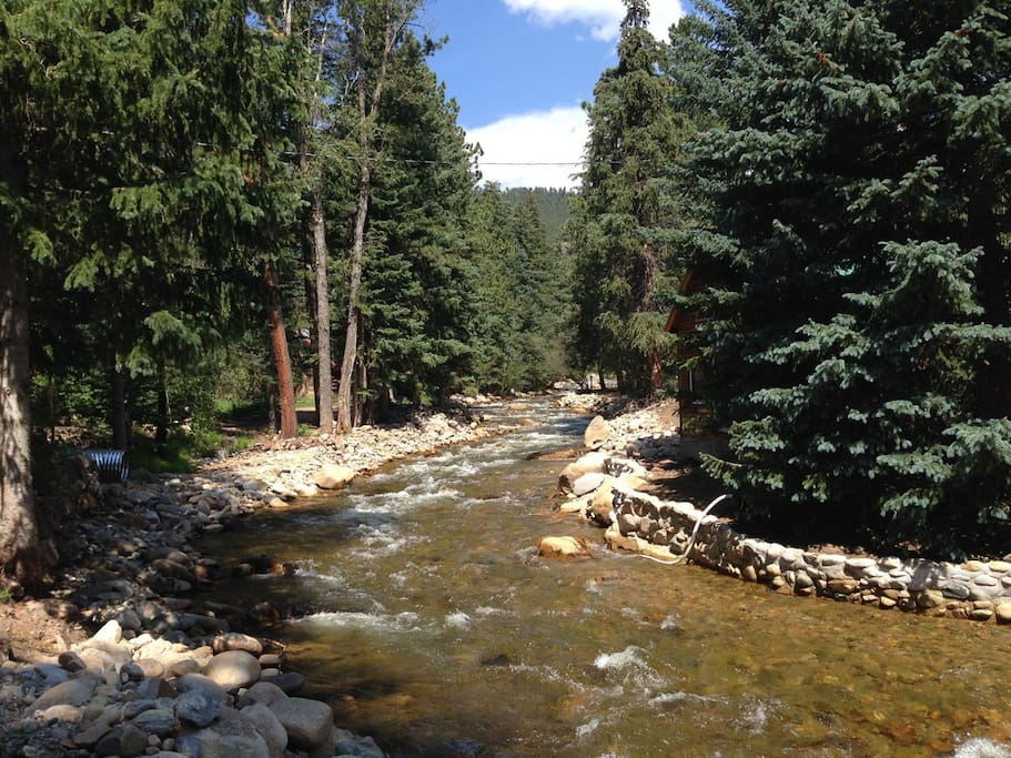 Enjoy the beautiful St. Vrain River!