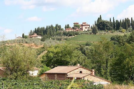 Chianti-Bio-Garden-Kitchenette-Shiatsu-Relax-Art - Greve in Chianti - Bed & Breakfast - 2
