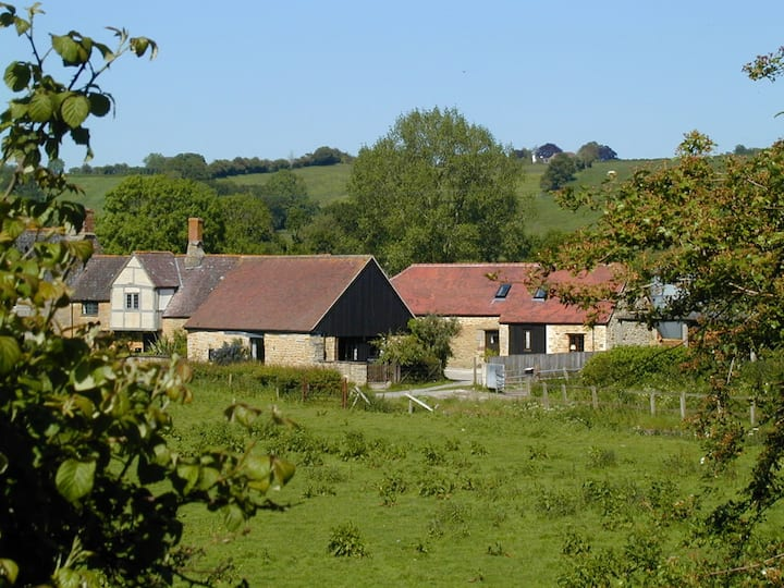 Medieval barn conversion, Castle Cary, Somerset