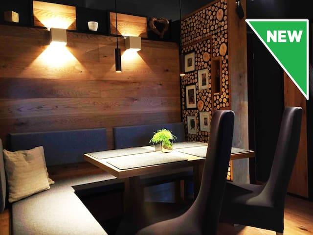 2-Zimmerwohnung in ALPINEM CHIC + 1x TG-Parkplatz!