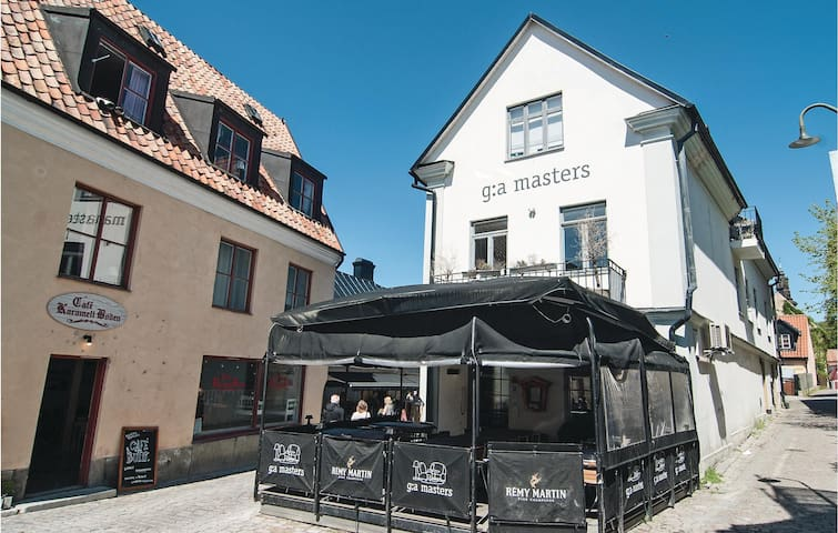 Holiday apartment with 3 bedrooms on 130m² in Visby