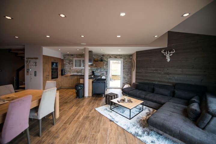 Chalet luxe - 13p - Sauna +Jacuzzi - Prox Ski