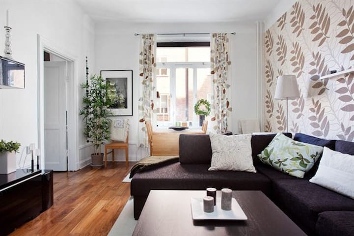 5★ modern apartment in trendy Södermalm
