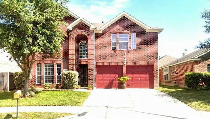 Charming two story in cul-de-sac.