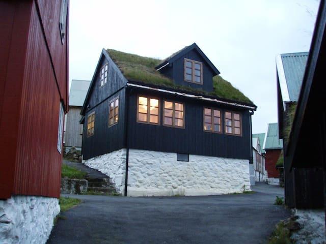 Traumhaus direkt am Meer - Elduvík - Rumah