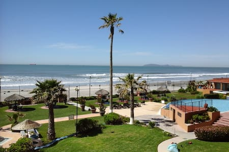24/7 Security Ocean Front Apartment - Rosarito - Byt