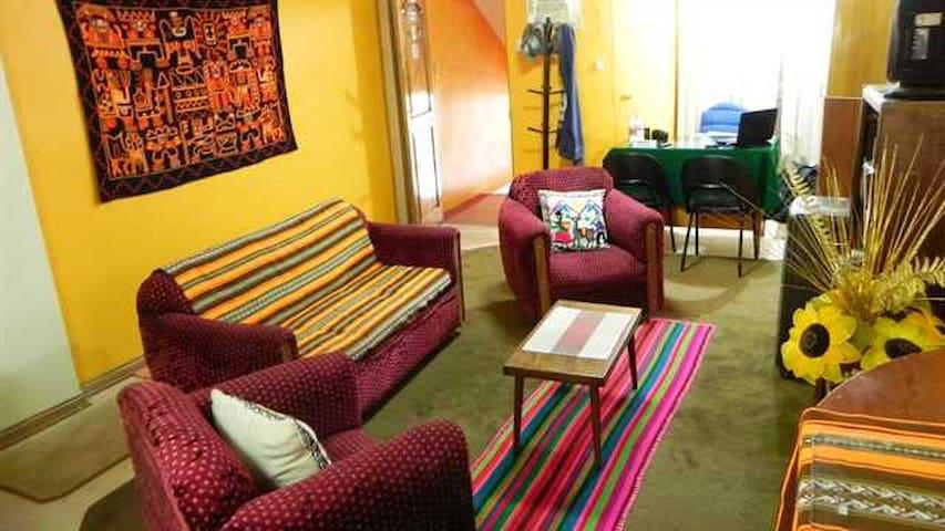 Double room in Puno center - Puno - Bed & Breakfast