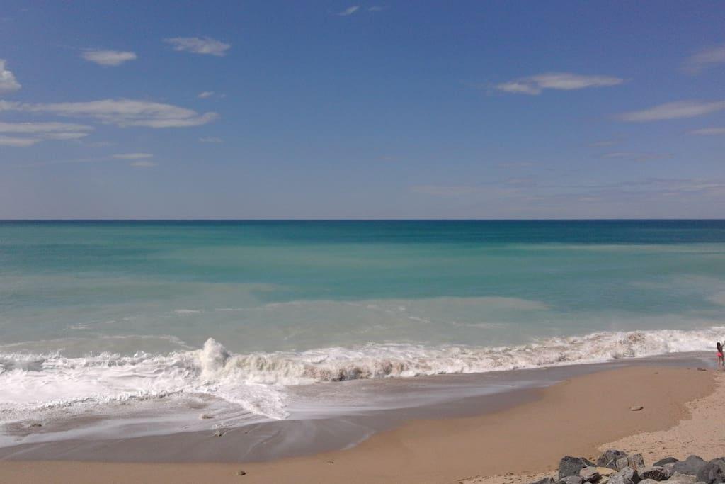 la plage à 10 mn
