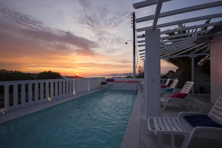 Studio for 4 persons near Mykonos Town