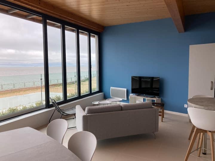 NEW! Royan plage de Foncillon, vue mer et port