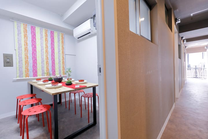 8 bedrooms!/Ikebukuro/4 min to sta/Family/Group - Toshima-ku - Byt