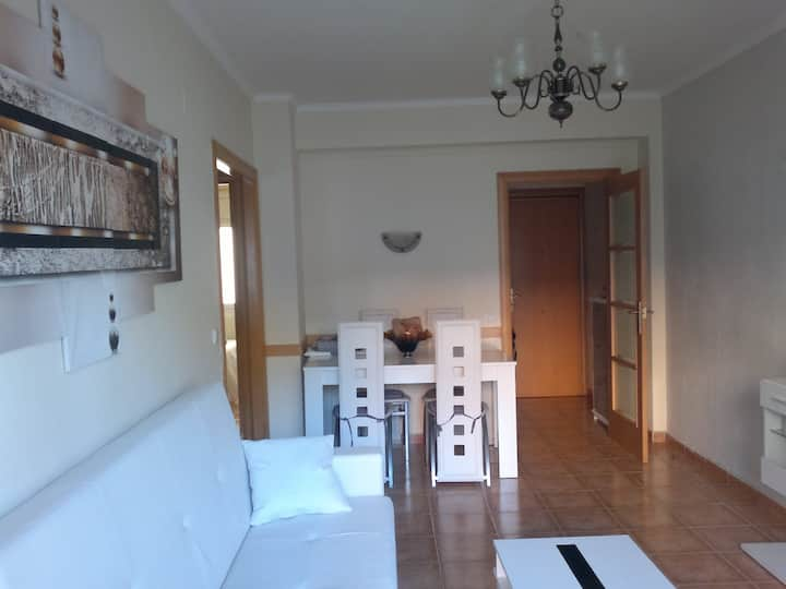 apartment in Calafell 150 meters from the beach,