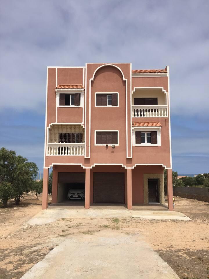 Maison Daou à la sortie de Oualidia