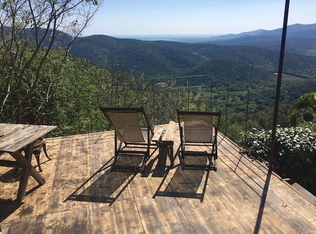 La Farfalla ~ with a private pool and view terrace