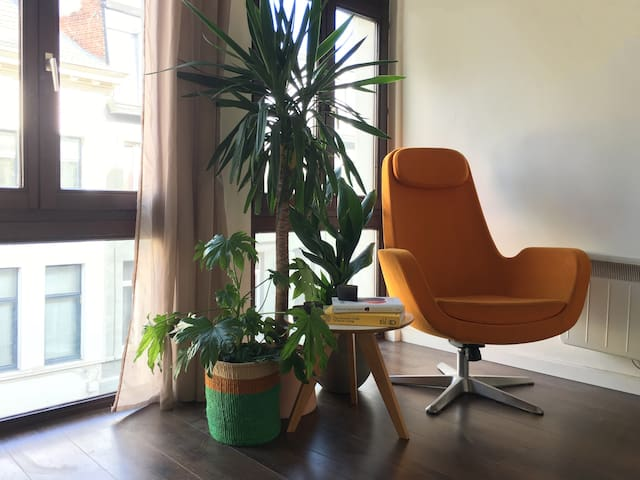 Cozy Flat in Cool Neighborhood - Antuérpia - Apartamento