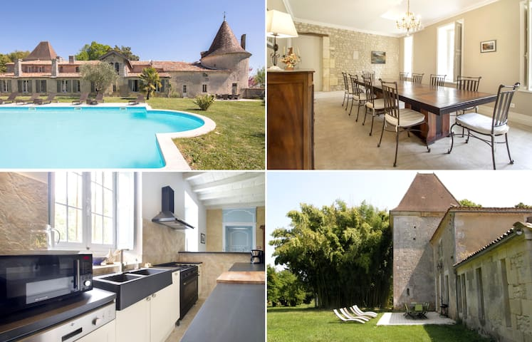 Luxury gite in Charente-Maritime – Swimming pool