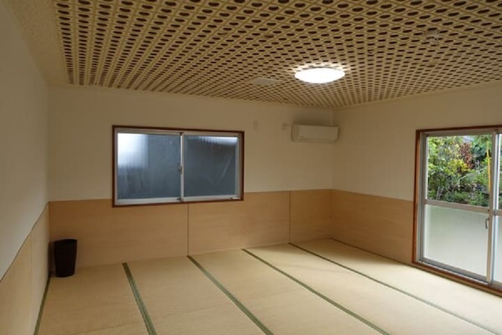 Japanese Room large room Mixed dormitory